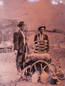 Moonshine made the old way.