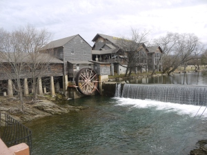 The Old Mill and Old Mill Restaurant in Pigeon Forge