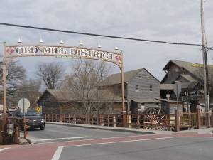 The Old Mill Historic district of Pigeon Forge