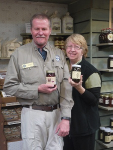 Jim Jenkins and Susan Melchor - Great Smoky Mountain National Park employees who were very knowledgable about the food history of Tennessee.
