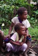 Hungry boys watch the Mumu cooking