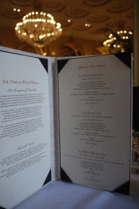 The High Tea Menu