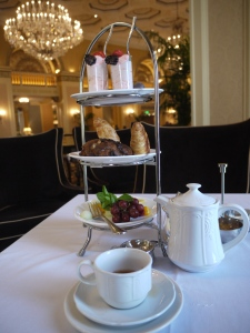 High Tea service at the Omni William Penn Hotel in Pittsburgh, Pennsylvania, U.S.A.