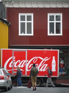 Coca-Cola has been consumed heavily in Iceland for many years.